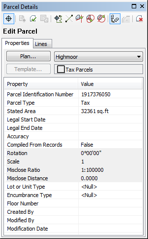 A quick tour of parcel editing—Help | ArcGIS Desktop