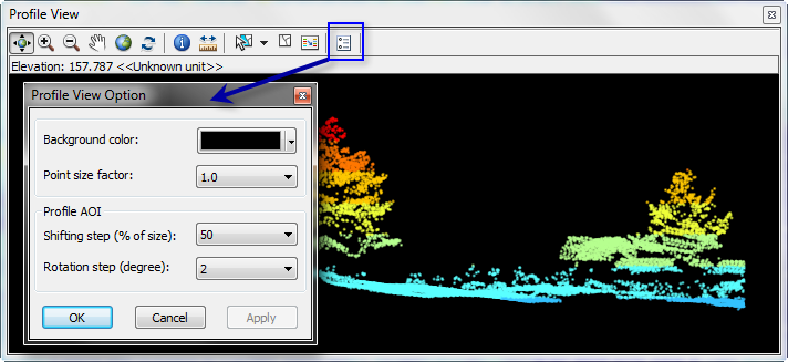 Displaying Las Datasets As Points In Arcmap Help Arcgis