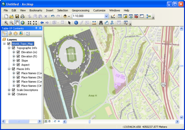 Mapping and visualization in ArcGIS Desktop—Help | ArcGIS