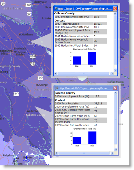 using html pop up windows for feature layers help arcgis desktop