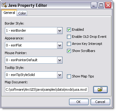 How to set MapControl properties—ArcObjects 10 4 Help for