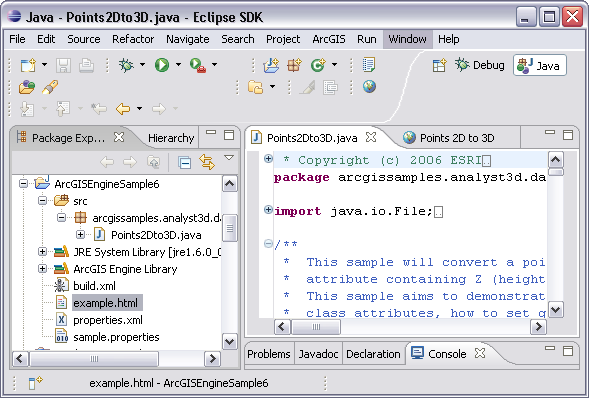 Samples—ArcObjects 10 4 Help for Java | ArcGIS for Desktop
