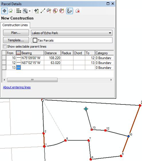 Dividir Parcelas Utilizando Las Lineas De Construccion Ayuda Arcgis For Desktop