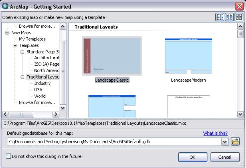 Utilizar plantillas de mapaAyuda  ArcGIS for Desktop