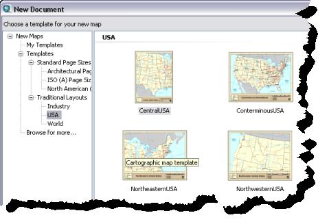 Pr sentation rapide des mises en page aide arcgis for for Gis powerpoint templates