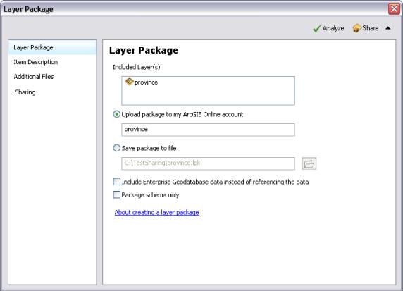 c2b33c3772 Création d'un paquetage de couche—Aide | ArcGIS for Desktop