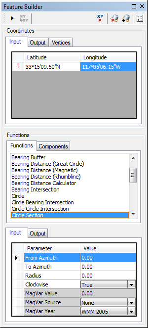 Creating a circle section—Help | ArcGIS Desktop