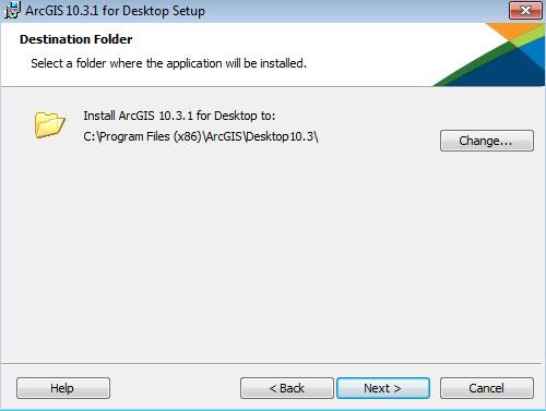 お使いのコンピューターへの arcgis for desktop のインストール ヘルプ