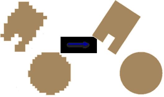 Упорядочить контуры зданий—Справка | ArcGIS Desktop